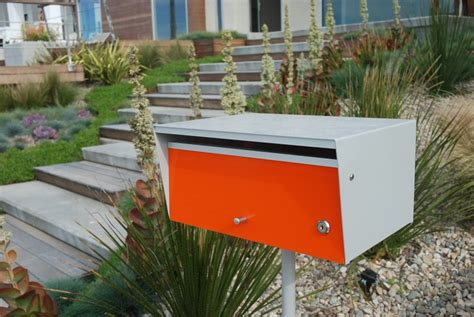 Mid Century Modern Mailbox Mid Century Modern Mailbox Design And Color Options