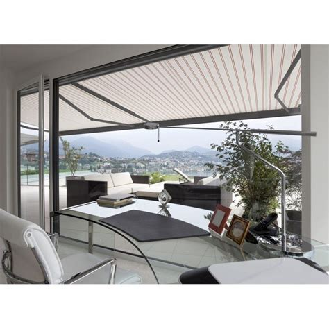 Sun Awnings Retractable by Advaning Classic 8 Ft Electric Retractable Patio Awning