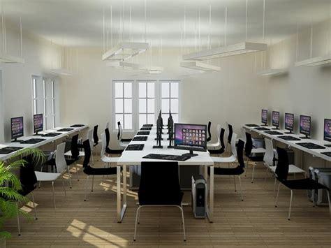 Meja Komputer Laboratorium desain laboratorium sekolah