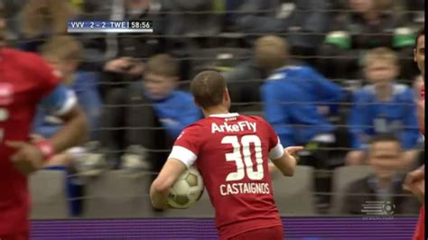 highlights vvv venlo 2 2 fc twente espn video
