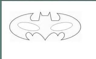 Free batman eye mask coloring pages