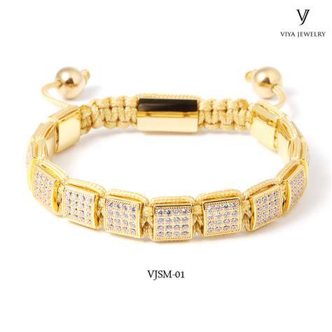 Macrame Knot Bracelet - wholesale macrame square knot bracelet