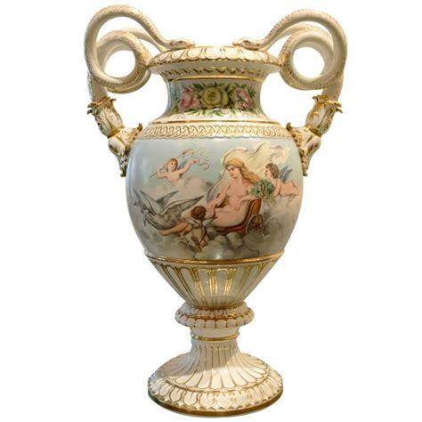 Meissen Vases by Antique Painted Meissen Vase At 1stdibs