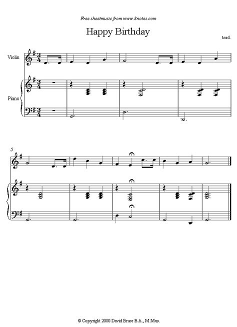 happy birthday violin mp3 download happy birthday to you sheet music for violin 8notes com