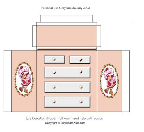 printable paper furniture 17 best images about doll template printables on