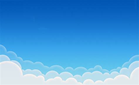 Clouds Illustration 800x600 Pixel Ppt Backgrounds For Cloud Template For Powerpoint