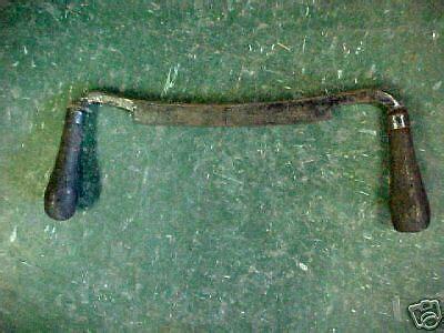 vintage antique draw knife knive  split blade  ebay