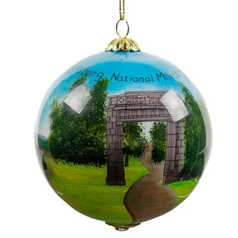 national park christmas ornaments vicksburg national park ornament eparks where your purchase supports