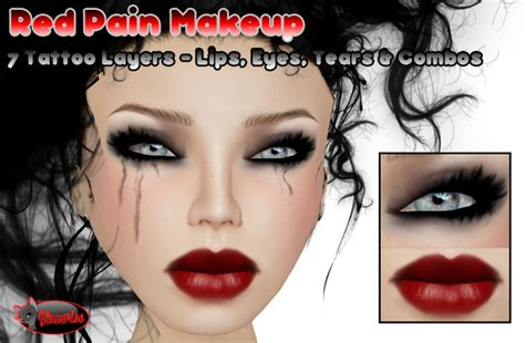 lip tattoo pain level second life marketplace glamorize red pain makeup