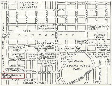 san francisco map haight ashbury my psychedelic san francisco manhattmanmanhattman
