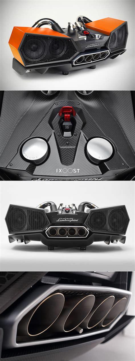 Lamborghini Esavox by Lamborghini Esavox Smartphone Docking Station Might Be