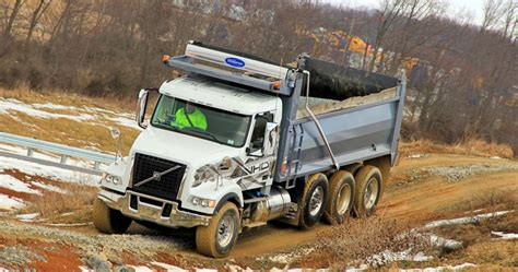 volvo reinforces  shift  severe duty applications truck news