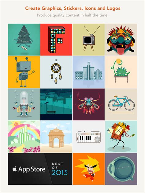 how to design graphics for apps assembly art and design on the app store