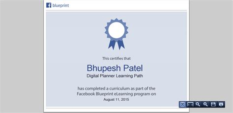 fb blueprint how to get facebook certificate seo expert consultant