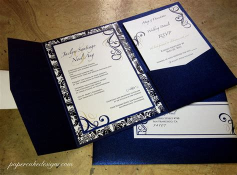 how to make a custom card diy print assemble wedding invitations papercake designs