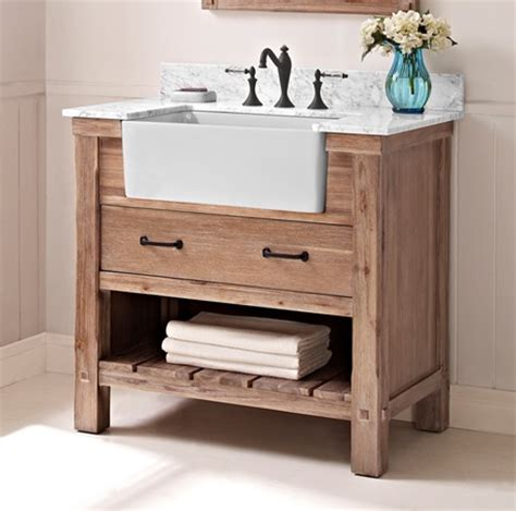 fairmont designs bathroom vanities napa 36 quot farmhouse vanity sonoma sand fairmont designs