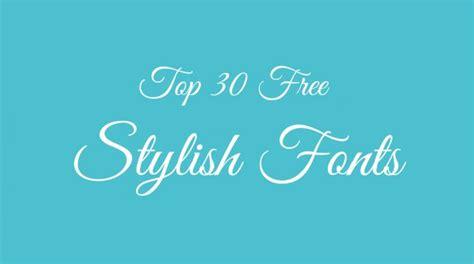 stylish font design online cool fonts 25 free calligraphy fonts