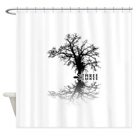 black tree shower curtain tree black shower curtain by imagineworld