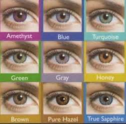 eye color contacts how to choose colored contact lens for