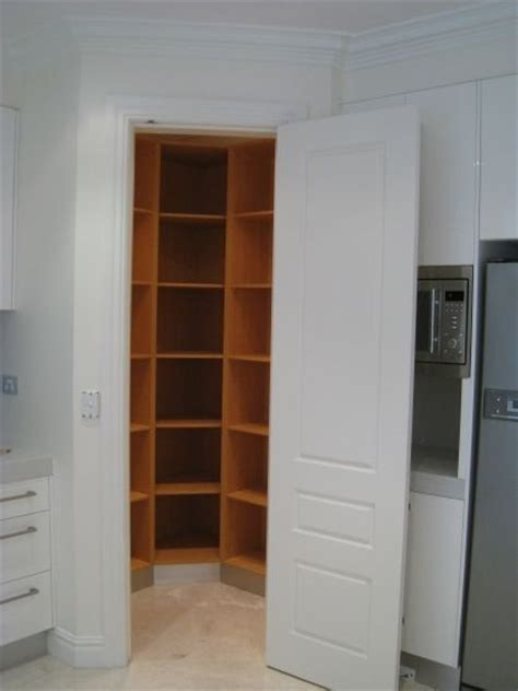 corner pantry for the home