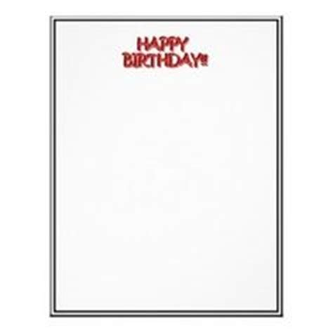birthday letter template happy birthday flyer templates letter happy