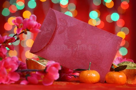 new year decor with ang pow new year packet stock photo image 46706633