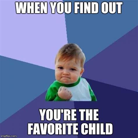 Favorite Child Meme - success kid meme imgflip