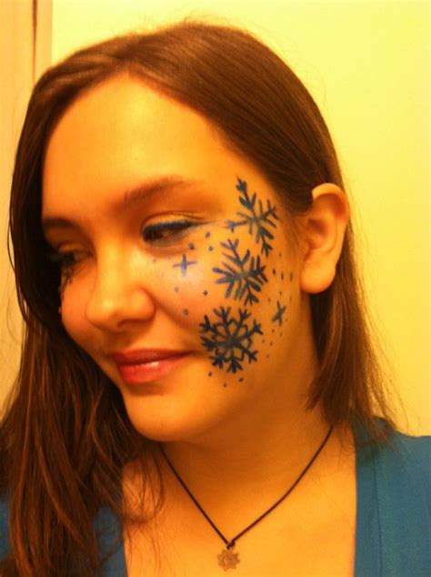Interactive Room Design snowflake makeup design by therandomthings on deviantart