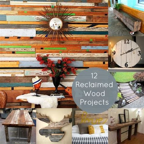 DIY Reclaimed Wood Project Ideas