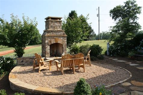 outdoor seating area with cover outdoor seating area with fireplace and pebble
