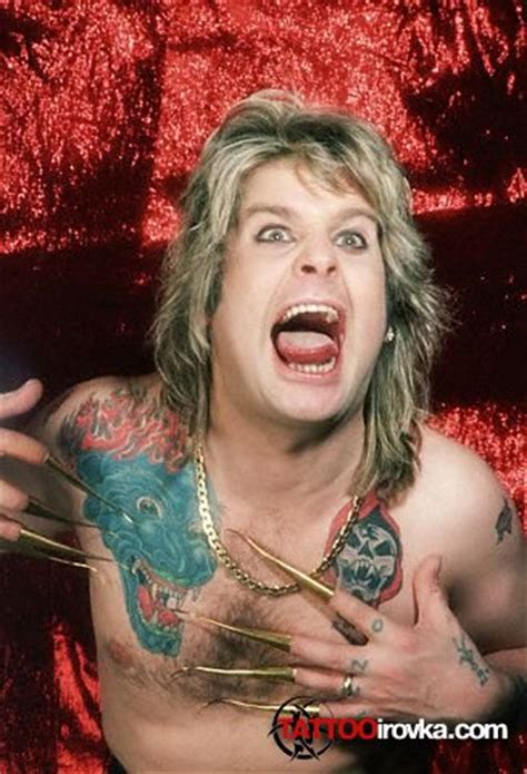 ozzy tattoos ozzy osbourne pictures gallery