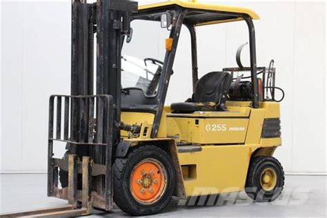 daewoo g25s 2 lpg forklifts year of manufacture 1997