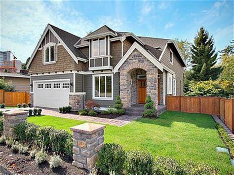 contemporary craftsman style house plans modern