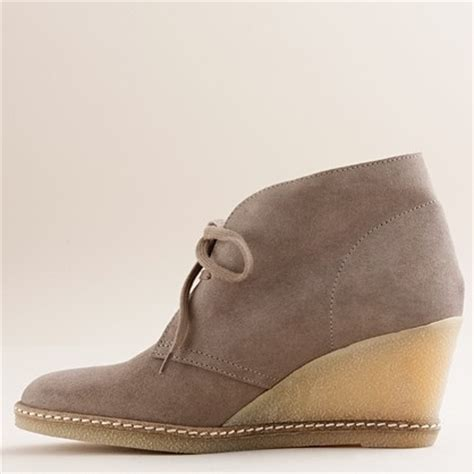 j crew macalister wedge boots my style
