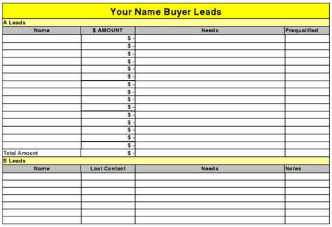 lead tracking template sales lead tracking template excel