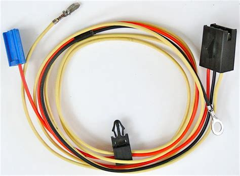 1980 1982 corvette power antenna radio to relay wires replaces gm