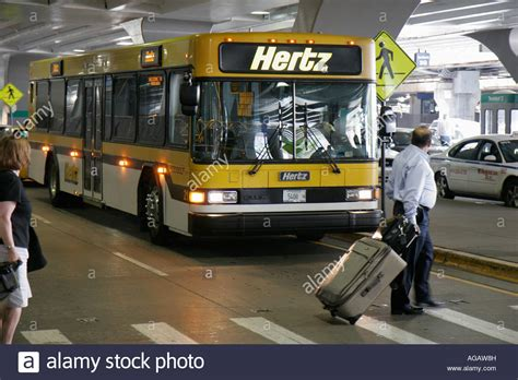 Car Shuttle To Airport by Illinois Chicago O Hare Airport Hertz Car Rental Shuttle