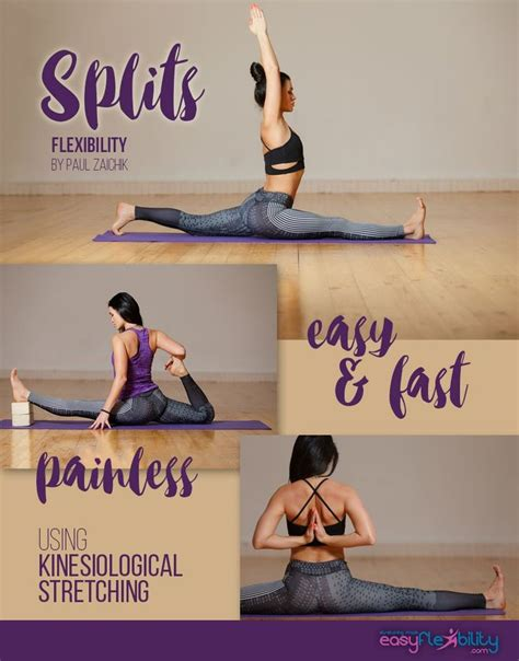 best flexibility exercises best 25 ballet splits stretches ideas on