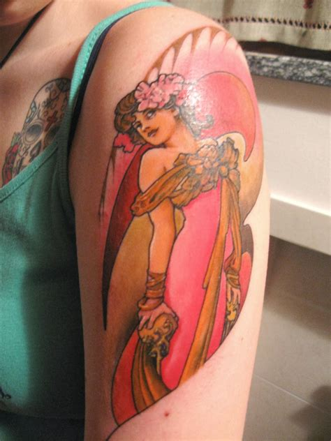 art deco tattoo tattooz designs nouveau tattoos for