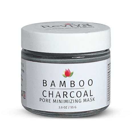 Masker Bamboo Charcoal bamboo charcoal pore minimizing mask reviva labs