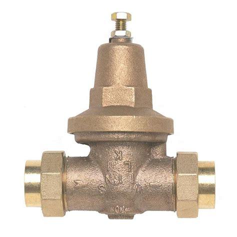 water pressure regulator zurn wilkins 3 4 in x 3 4 in brass water pressure reducing valve 34 70xldu the home depot