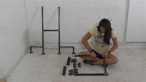 diy standing desk diy plumbers pipe standing desk
