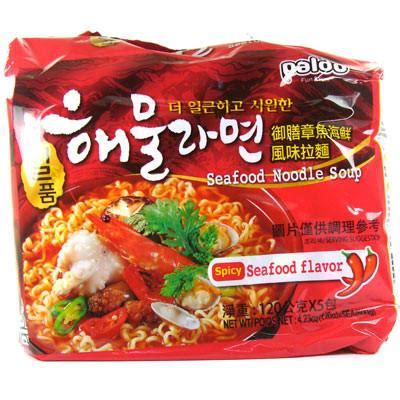 Paldo Hwa Ramyun Mie Kuah Pedas 4x125gr 4pcs ramen mix samyang noodle ottogi cheese