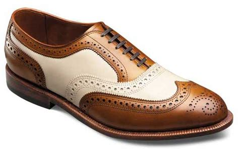 Handmade Mens Leather Shoes - handmade brown and white shoes s brogue leather shoes