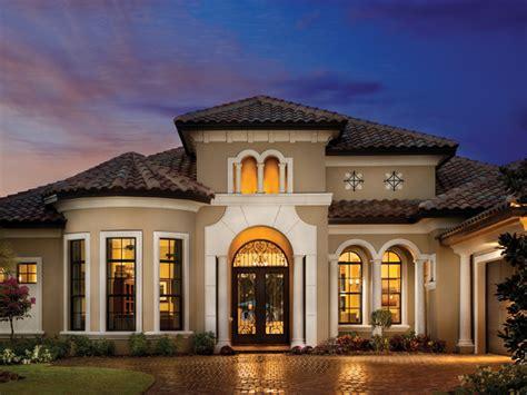 Mediterranean Home Design by Valencia 1180 Mediterranean Exterior Tampa By