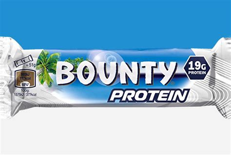 where does the bounty live bounty protein bar packing 19g of protein for 200 calories