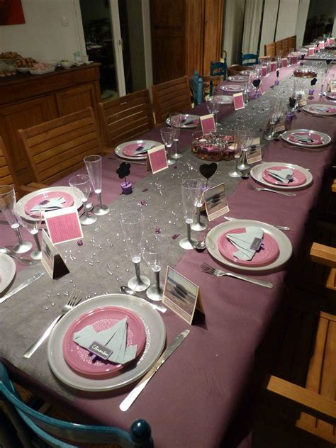 Decoration Maison Pour Anniversaire by Cuisine Decoration De Table Pour Anniversaire Interieur