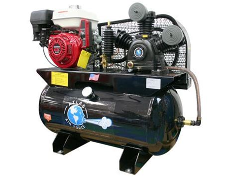 atlas 174 af17g honda 8 hp electric start 30 gallon gas powered air compressor gses