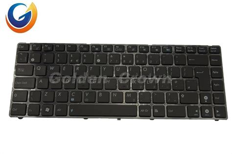 Keyboard Asus Ul30 Us Black china laptop keyboard teclado for asus ul30 black without