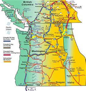 oregon ski resorts map ski areas mountain high snowsport club portland oregon